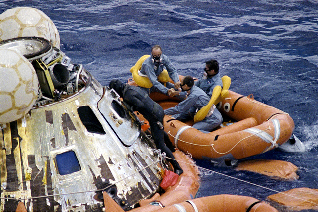 life boat for astronauts
