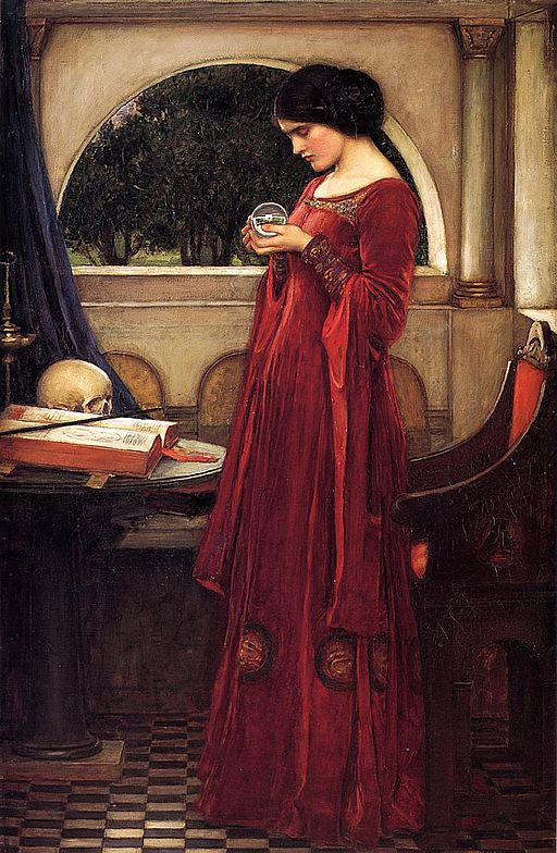 john_william_waterhouse_-_the_crystal_ball